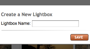create lightbox